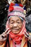 Gebürtige alte Frau Lizenzfreies Stockfoto