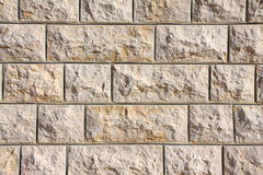 Gebürtige libanesische Kalkstein-Wand lizenzfreie stockbilder