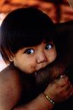 Gebürtiges indisches Awa Guaja von Brasilien lizenzfreies stockbild
