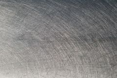 Geb?rstete Metalloberfl?chenbeschaffenheit in gutem Zustand stockbild