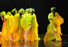 Gebaad in het zonlicht-dansdrama de legende van de Condorhelden Royalty-vrije Stock Foto's
