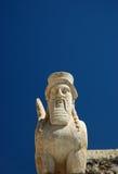 Gebaarde sphinxs royalty-vrije stock foto's