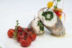 Gebackene Fische lizenzfreies stockbild