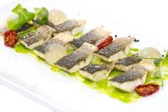 Gebackene Fische lizenzfreie stockbilder