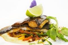Gebackene Fische lizenzfreies stockfoto