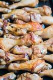 Gebackene Hühnerbeine Lizenzfreie Stockfotografie