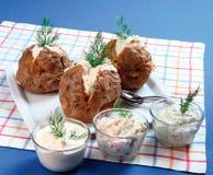 Gebackene Kartoffel Stockfoto