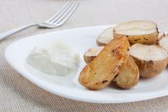 Gebackene Kartoffel Lizenzfreies Stockbild