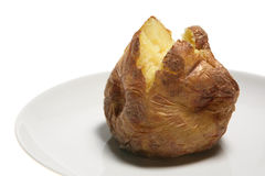 Gebackene Kartoffel Stockbilder