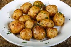 Gebackene Kartoffel lizenzfreie stockfotografie