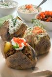 Gebackene Kartoffel Lizenzfreie Stockbilder