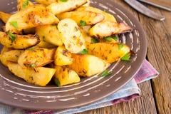Gebackene Kartoffeln Stockfotos