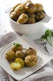 Gebackene Kartoffeln Stockfotografie