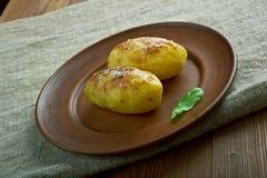 Gebackene Kartoffeln Stockfoto