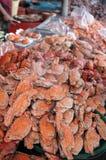 Gebackene Krabbe stockbild