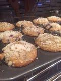 Gebackene Muffins Stockbild