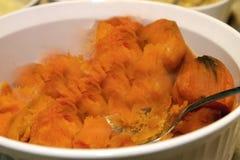Gebackene Süßkartoffeln Lizenzfreie Stockfotos