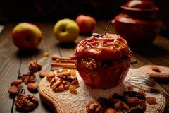 Gebackener Apfel Lizenzfreie Stockfotografie