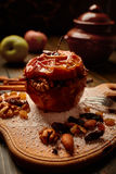 Gebackener Apfel Lizenzfreie Stockfotos