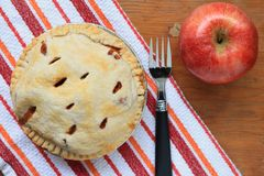Gebackener Apfelkuchen Lizenzfreies Stockfoto