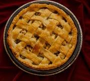 Gebackener Apfelkuchen-Nachtisch stockfotografie