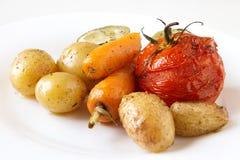Gebackenes Gemüse Lizenzfreie Stockfotos