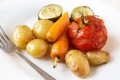Gebackenes Gemüse Lizenzfreies Stockbild