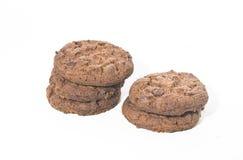 Gebakje: Chocolade Chip Cookie royalty-vrije stock foto's