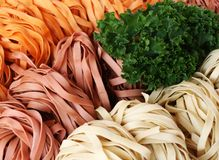 Gebakjes en groenten Royalty-vrije Stock Foto