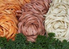 Gebakjes en groenten Stock Afbeelding