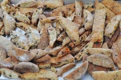 Gebakjes en koekjes stock fotografie