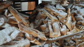 Gebakjes en koekjes stock afbeelding