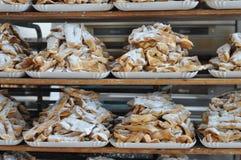 Gebakjes en koekjes royalty-vrije stock foto