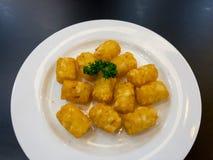 Gebakken aardappelaardappel Royalty-vrije Stock Foto
