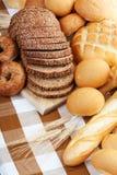 Gebakken brood stock afbeelding