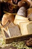 Gebakken brood Stock Foto's