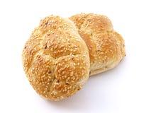 Gebakken broodjes stock foto