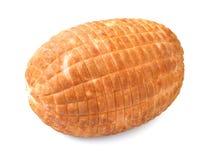Gebakken Ham Stock Foto