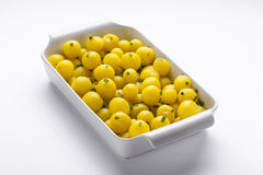 Gebakken Salsa-Aardappels Stock Foto