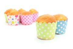 Gebakken vers cupcakes Stock Afbeeldingen