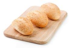 Gebakken vers van het broodje Stock Afbeelding