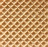 Gebakken wafeltjestructuur Royalty-vrije Stock Foto's
