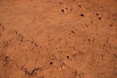 Gebarsten aarde stock afbeelding