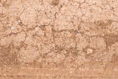 Gebarsten Aardeachtergrond Stock Foto