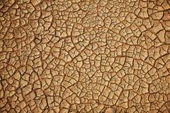 Gebarsten aardeachtergrond stock foto's