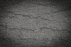 Gebarsten asfalt Royalty-vrije Stock Afbeelding