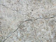 Gebarsten beton 1 royalty-vrije stock afbeelding