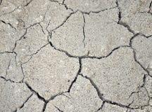 Gebarsten cementmuur Royalty-vrije Stock Foto