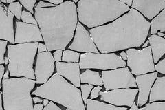 Gebarsten concrete Achtergrond Royalty-vrije Stock Foto