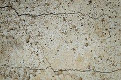 Gebarsten concrete plak Royalty-vrije Stock Foto